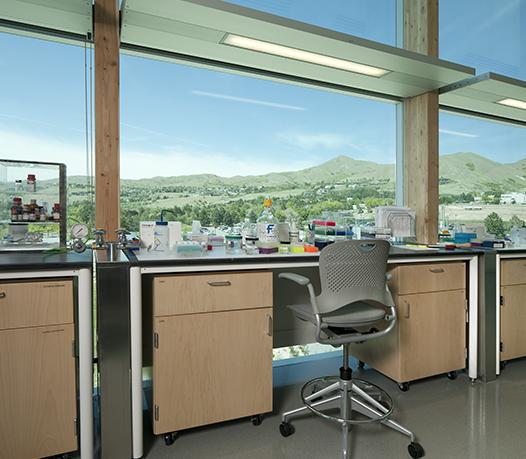 James LeVoy Sorenson Molecular Biotechnology Building - LEED Gold