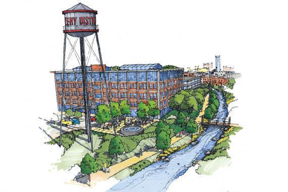 Lexington Distillery District
