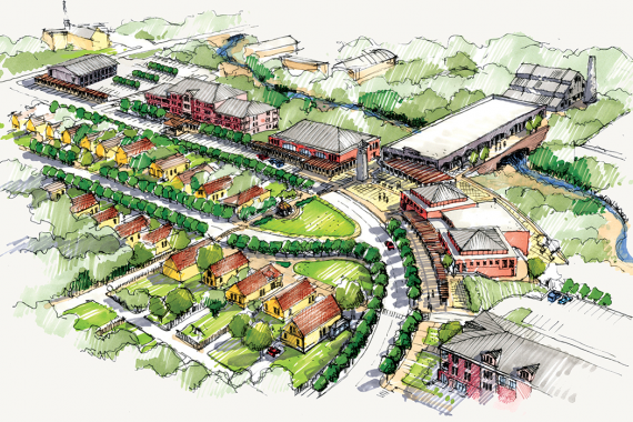 Campbell Terrace and Delona Gardens Hope VI Master Plans