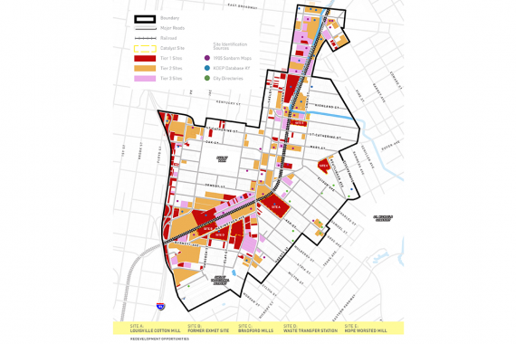 Louisville Central Rail Corridor Area-Wide Brownfield Plan