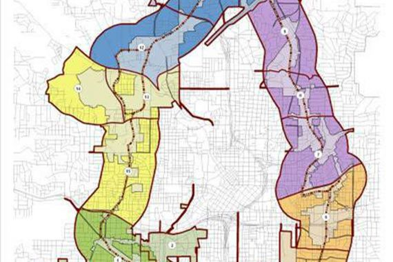 Atlanta Beltline Street Framework