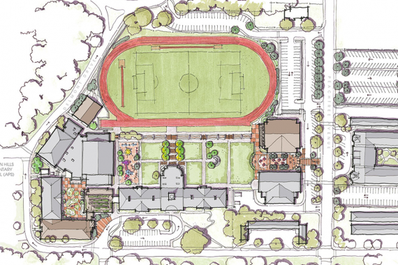 Atlanta International School Campus Design