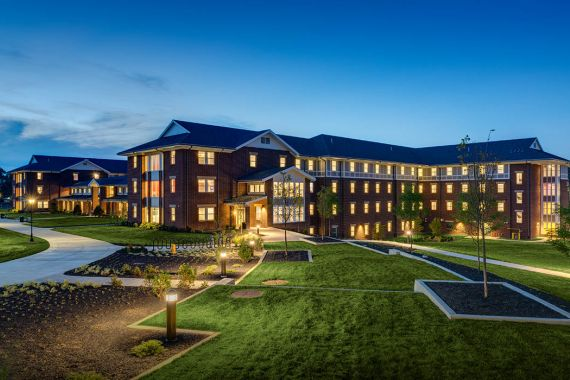 Millersville University Central Quad