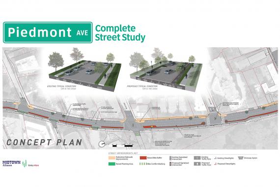 Piedmont Avenue Complete Street Project