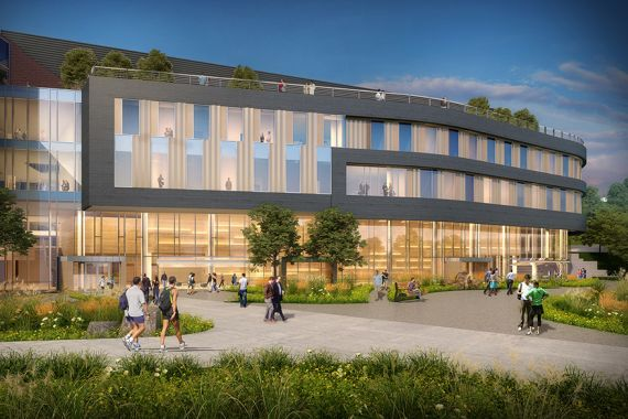 Western Carolina University STEM Center & Science Quad