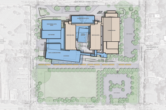 Howard Middle School Campus Master Plan