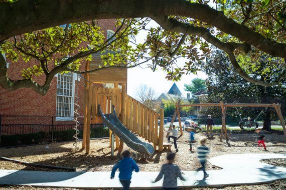 Decatur First Preschool Outdoor Playground